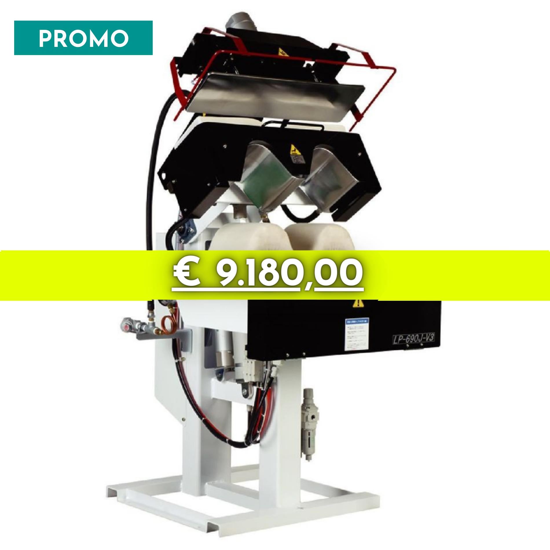 Pressa Singola Collo e Polsi Mod. LP-690E-V3