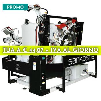 Macchina Automatica Doppia Stiro Camicia Mod. LP-190E-V2
