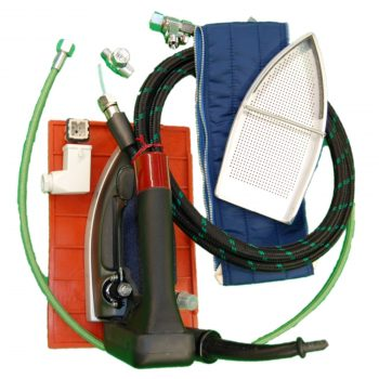 electric steam iron CDP-420 for generator w/ 5 mt hose