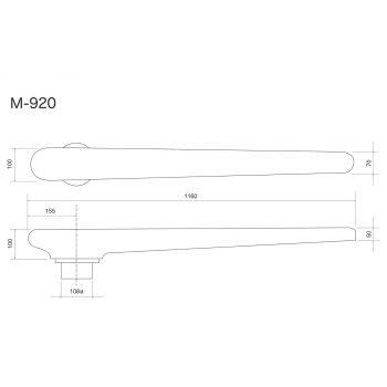 Forma Apertura Cuciture Gamba Pantalone Raggiata M-920
