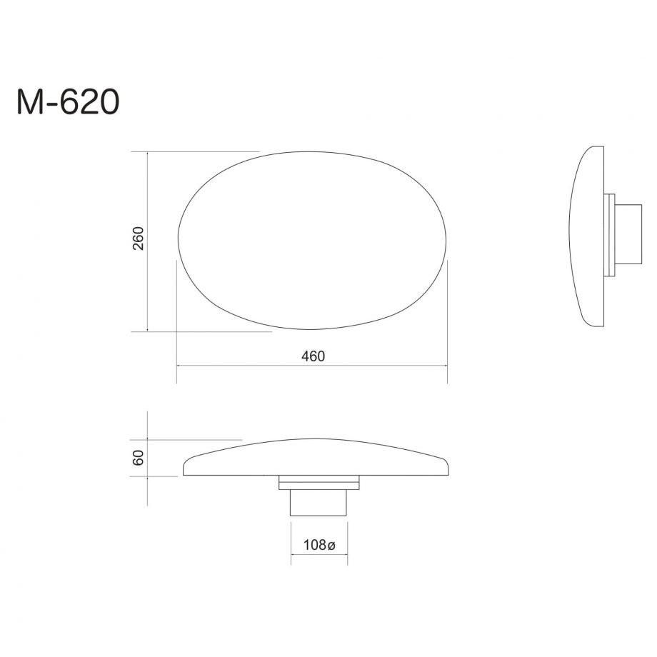 Bevelled Cushion Collar Ironing Buck M-620