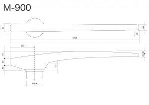Rayed Trouser Leg Seams Opening Buck Mod. M-900 For Ironing Table Mod. FBJ-SE