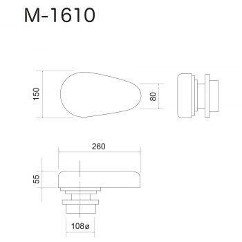 Forma Stiro Piana Giromanica M-1610N