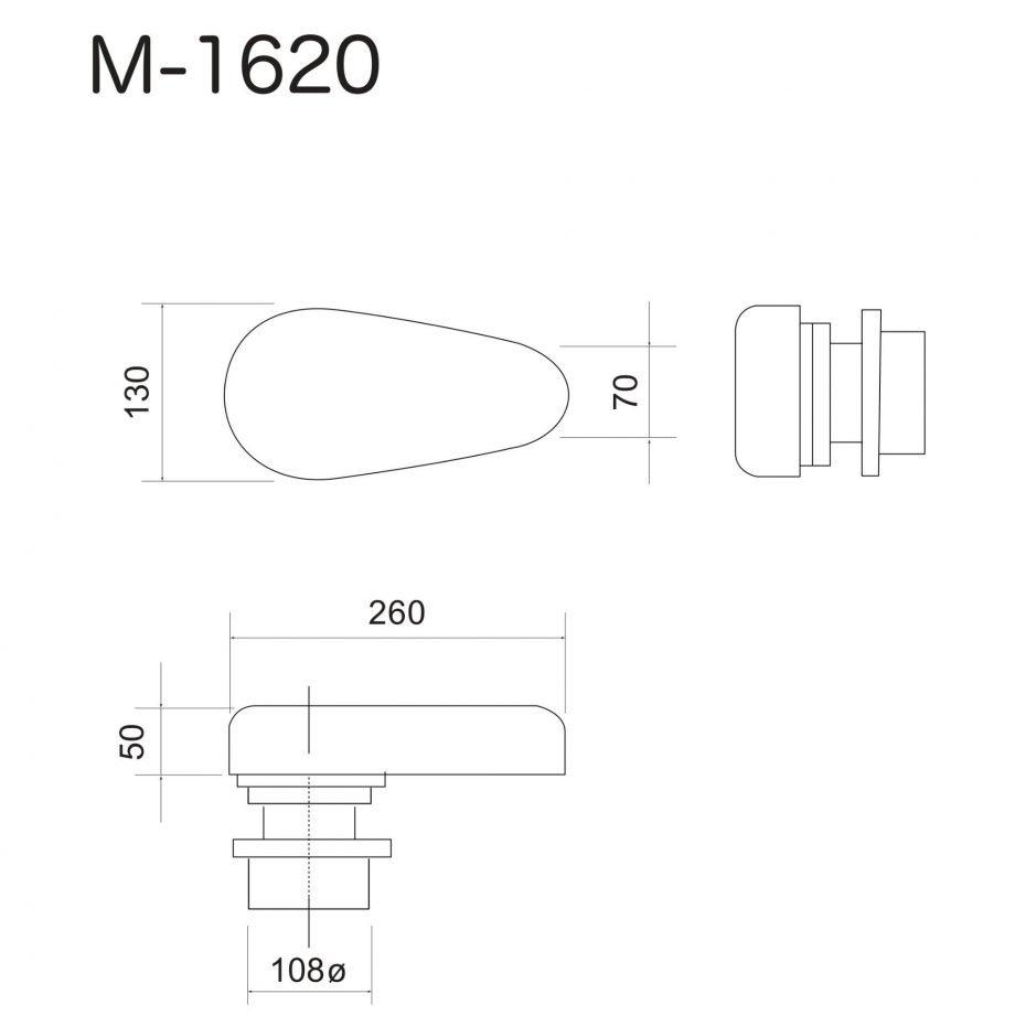 Flat Pad Buck For Upper Sleeve M-1620N