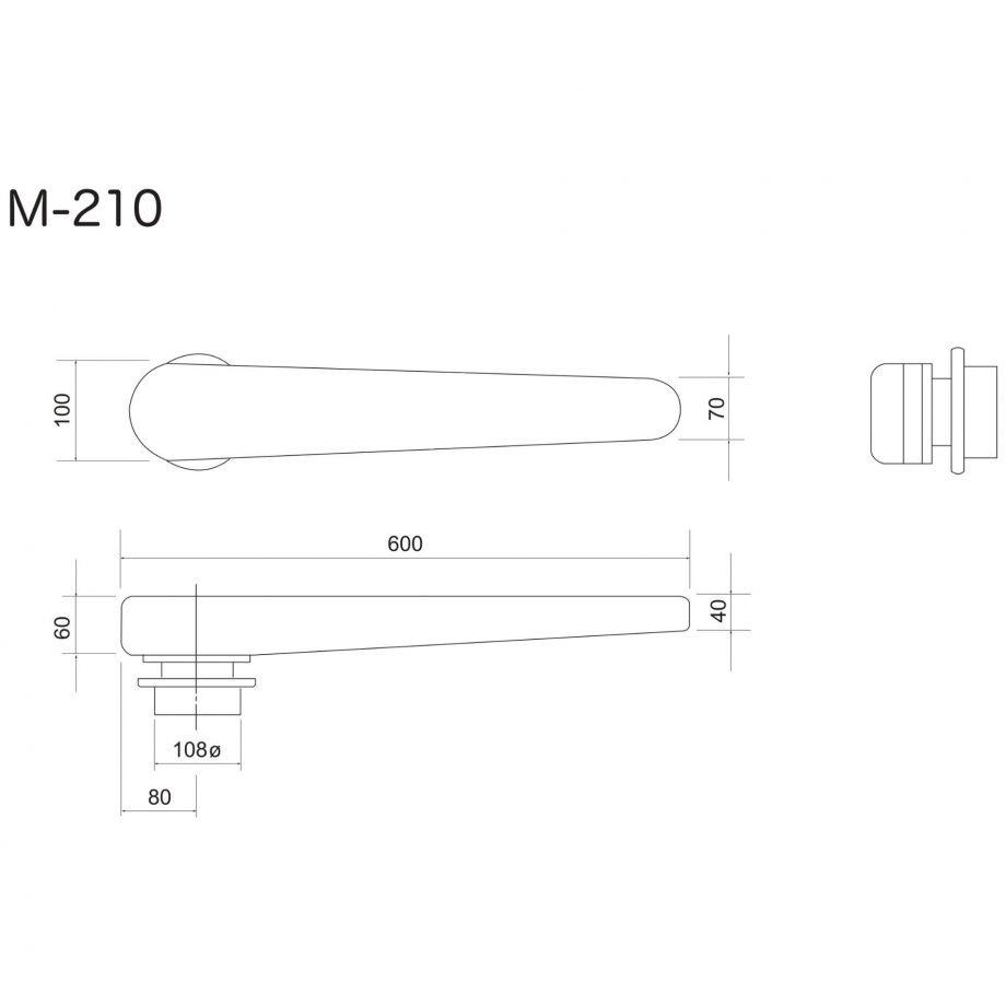 Flat Sleeve Ironing Buck M-210N
