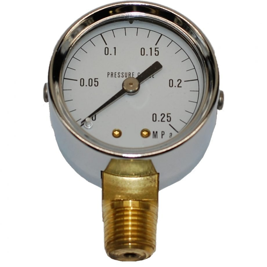 Pressure Gauge From 0 To 3 Bar For Steam Generator